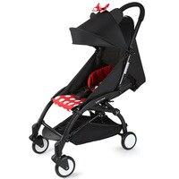 Babyyoya Lie Flat Super Light Airplane Baby Stroller Travel System Portable One Key Folding Baby Car Newborn Baby Carriage Pram