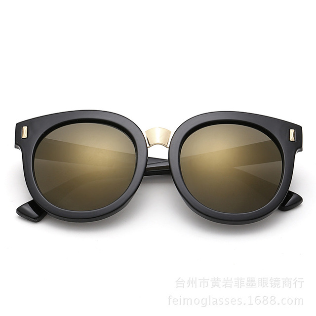 cfe309ebff Fashion Kids Sunglasses 2016 Newest Cat Eye Sun glasses Oval Mirror  Eyeglasses Women Famous Brand Designer Outdoor Goggle UV400
