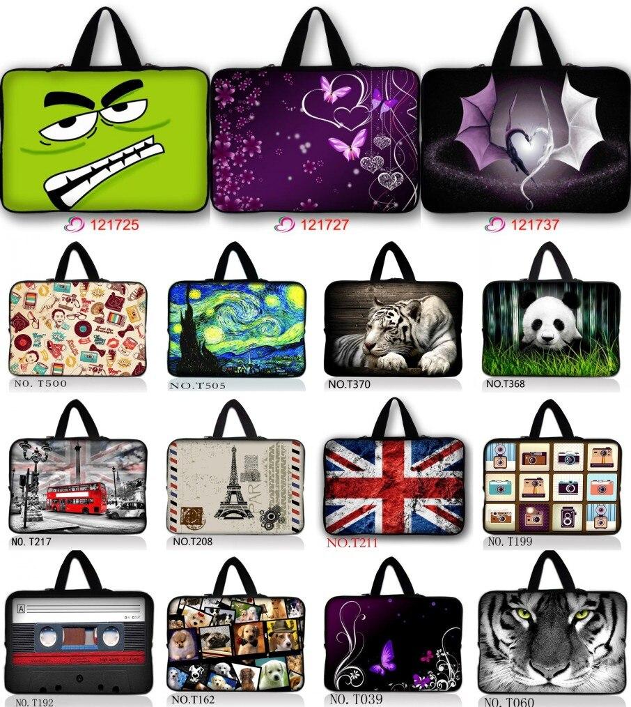"17 ""fashion Laptop Bag Carry Sleeve Case Voor 17.3"" Apple Macbook Pro Thinkpad W70/dell Alienware M17x Zorgvuldig Geselecteerde Materialen"