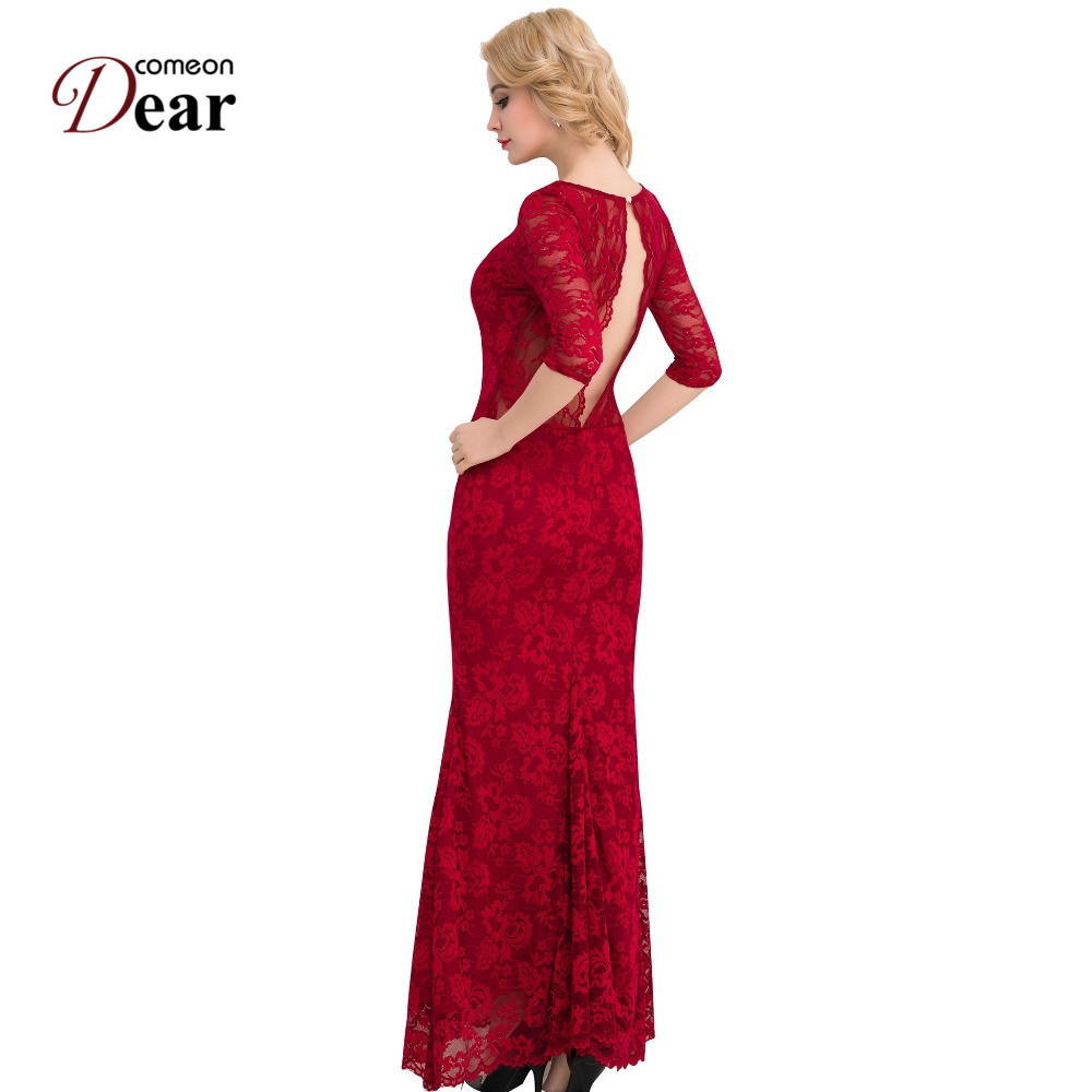 Comeondear Brand Sexy Jarní podzimní šaty pro ženy s hlubokým - Dámské oblečení