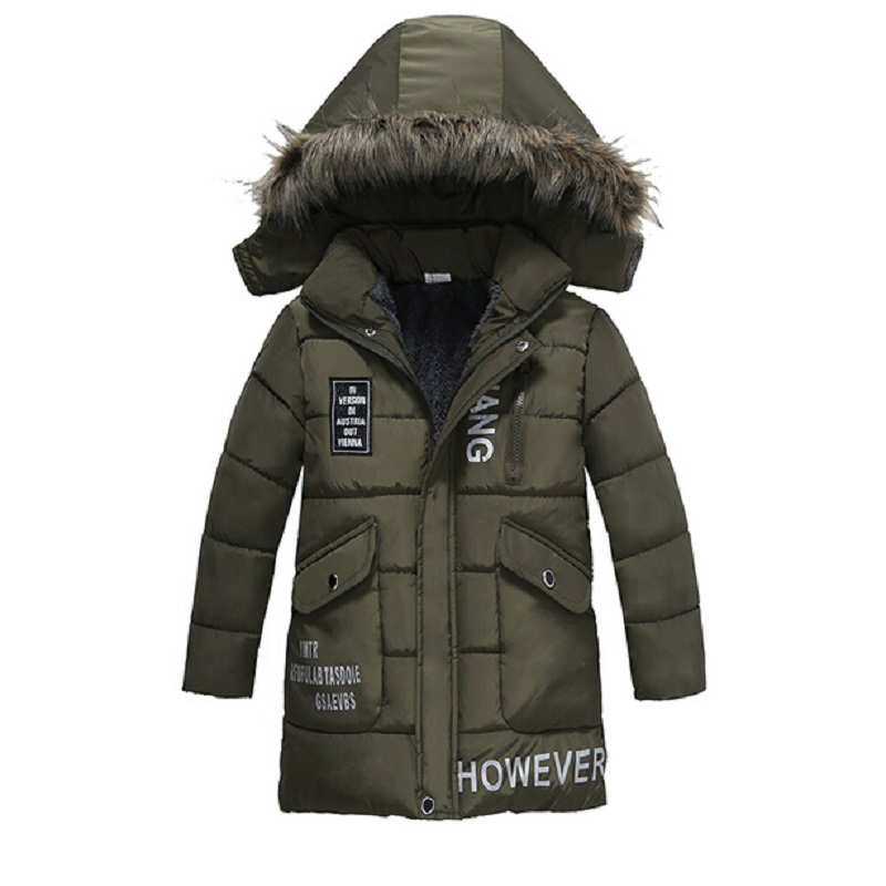 95c3ec316c59e 2018 new 3 color Boys Outerwear Down Coats dark blue 2017 New Winter  Children Down Parkas Fashion Kids Hooded Casual Warm -in Jackets   Coats  from Mother ...