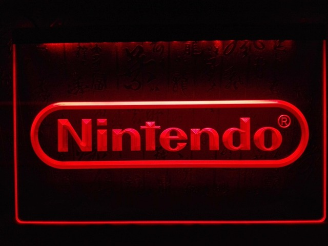 LH Nintendo Game LED Neon Light Signin Plaques Signs From - Car sign with namesonline get cheap d led sign aliexpresscom alibaba group