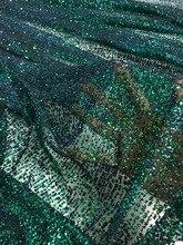 美しい接着グリッターチュールレース生地最新 JIANXI.C 101907 フランスナイジェリア女性のファッションドレス
