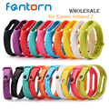 For xiaomi Mi Band 2 Silicone Wrist Strap Miband 2 Belt Bracelet Replacement Wristband Band OLED