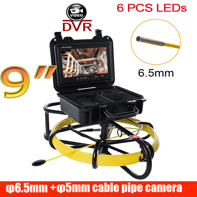 All-in-One 9 DVR Pipe Inspection Video Camera,DVR recroder Drain Sewer Pipeline Industrial Endoscope camera with Meter CounterAll-in-One 9 DVR Pipe Inspection Video Camera,DVR recroder Drain Sewer Pipeline Industrial Endoscope camera with Meter Counter