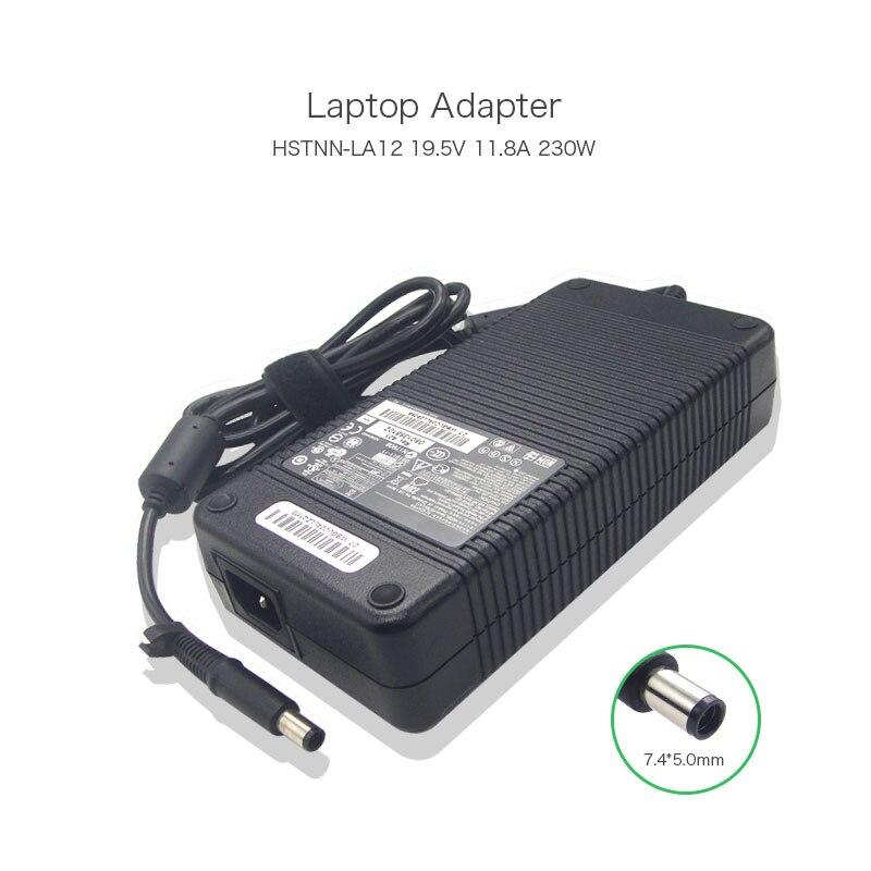 RongTop 230 Вт 19,5 в 11.8A 7,4*5,0 мм HSTNN LA12 питания ноутбука для HP Elitebook 8740 Вт 8760 Вт 8770 Вт PA 1231 66HH Зарядное устройство переменного тока