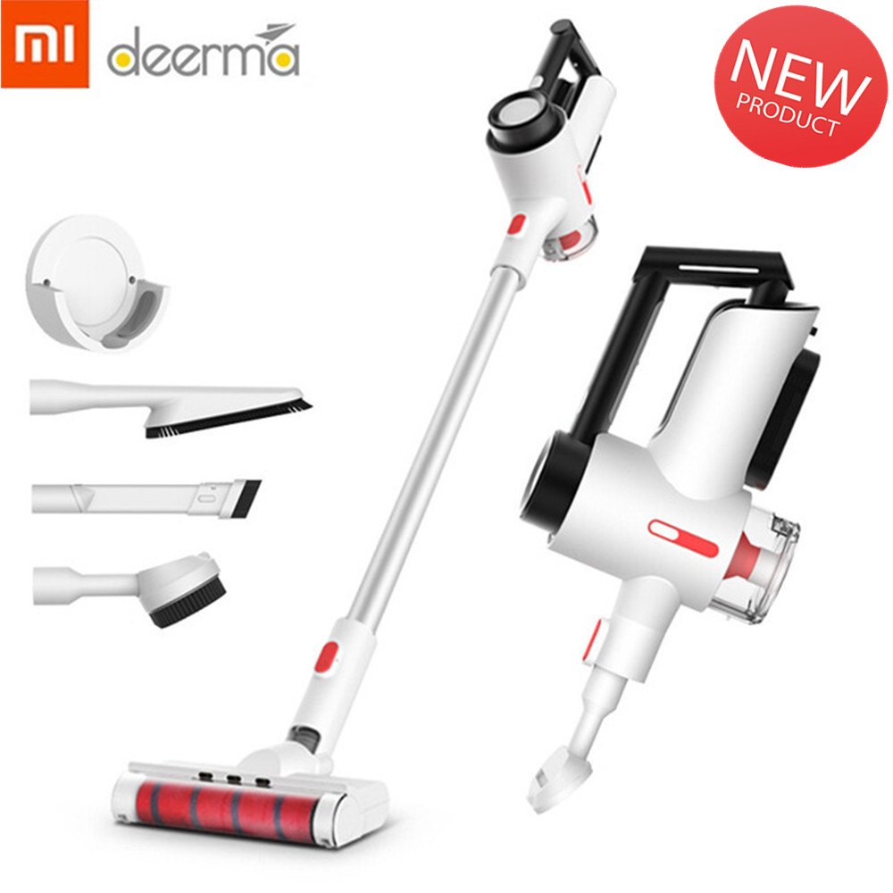 xiaomi deerma vc40 wireless vacuum cleaner handheld home mute large power strong suction dust. Black Bedroom Furniture Sets. Home Design Ideas