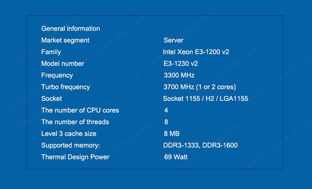 US $99 8 |Intel Xeon Quad Core Processor E3 1230 v2 E3 1230 V2 3 3GHz 8MB  LGA 1155 CPU LGA-in CPUs from Computer & Office on Aliexpress com | Alibaba