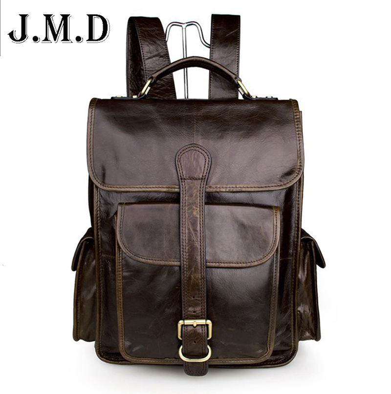 Vintage genuine leather bag  schoolbag men backpack  multifunctional men bag laptop mens travel bags 7283Vintage genuine leather bag  schoolbag men backpack  multifunctional men bag laptop mens travel bags 7283