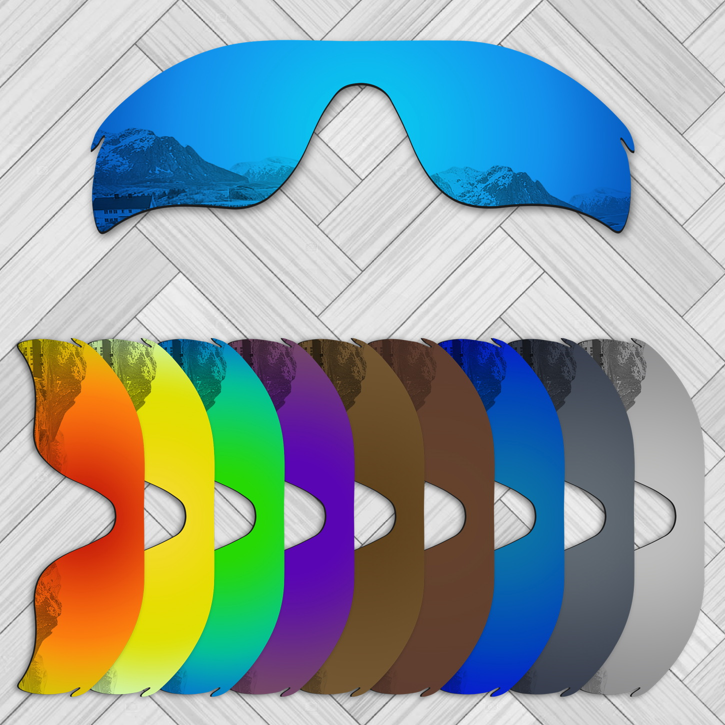 E.O.S 20+ Options Lens Replacement For OAKLEY RadarLock Path Sunglass