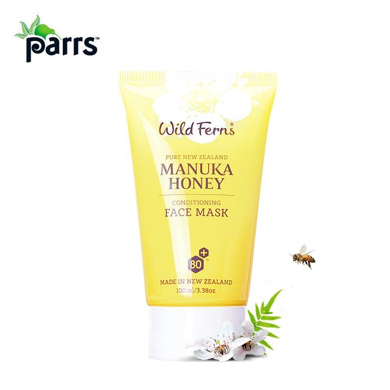 Masque hydratant pour le visage au miel de Manuka Parrs Original de nouvelle-zélande crème hydratante à la gelée royale Pollen d'abeille pour une lueur saine