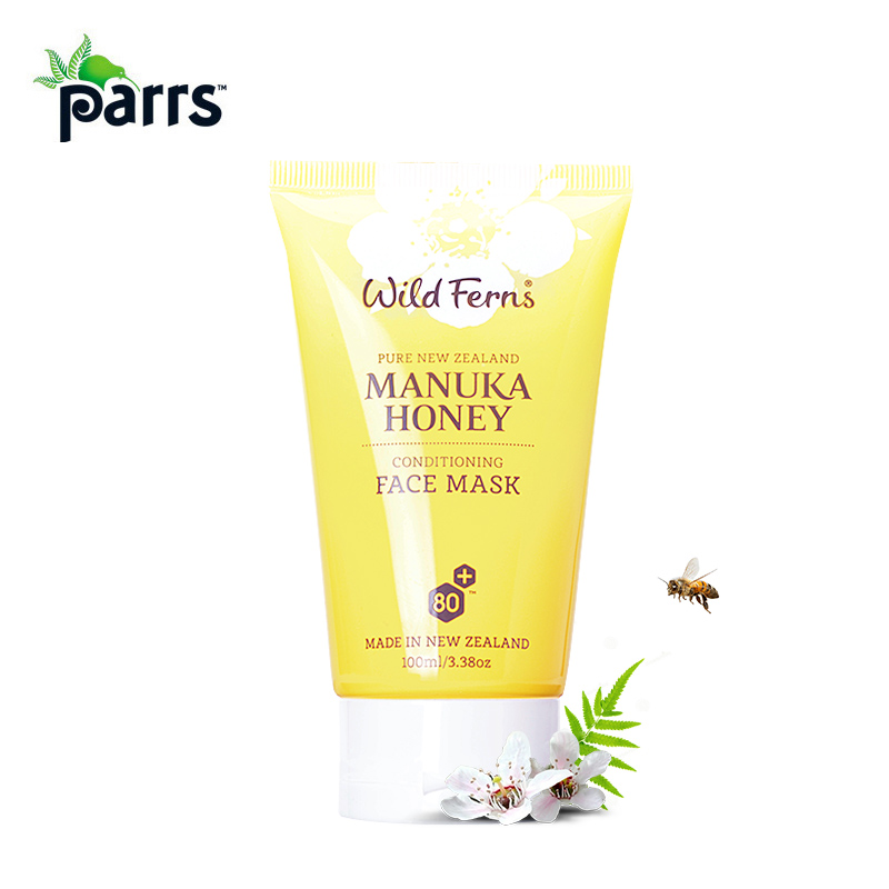 Original NewZealand Parrs Manuka Honey Conditioning Face Mask Moisturizing VE Cream Royal Jelly Bee Pollen for healthy glow airborne pollen allergy