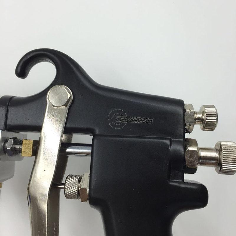 SAT1182 Pistola de pulverización de doble boquilla Alimentación de - Herramientas eléctricas - foto 4