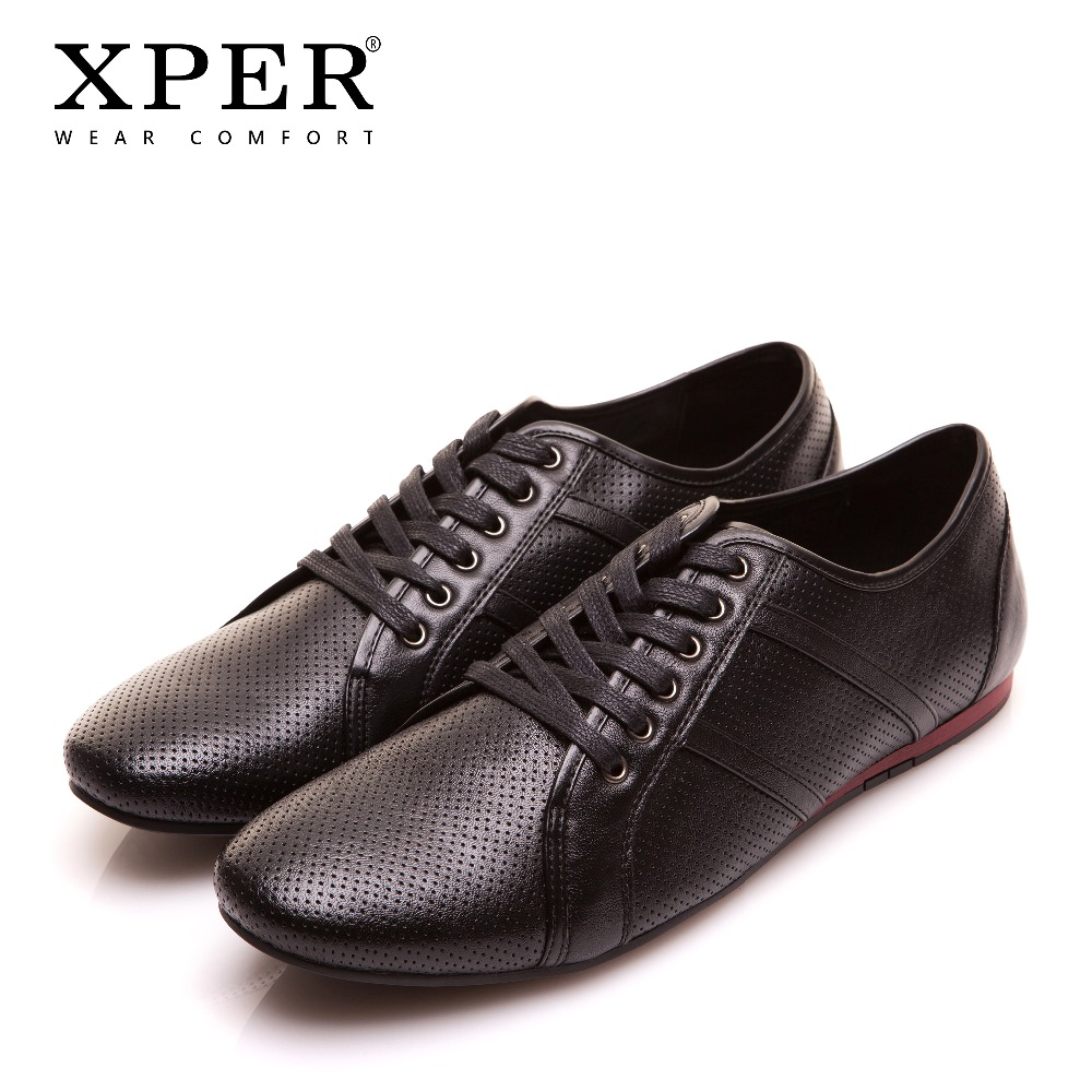 XPER Brand Leather Casual Shoes Men Moccasins Shoes Fashion Business Footwear Breathable Sneaker Comfort Flats Hole #YWD86504XPER Brand Leather Casual Shoes Men Moccasins Shoes Fashion Business Footwear Breathable Sneaker Comfort Flats Hole #YWD86504