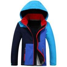 Waterproof Outfits Child Tech Coat Warm Baby Girls Soft Shel