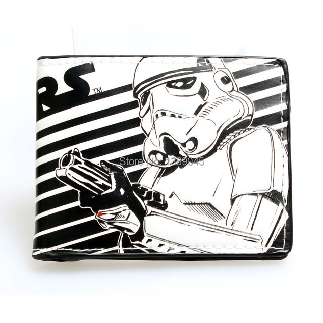 Star Wars wallet Darth Vader  animated cartoon wallet purse young students personality wallet  DFT-1194
