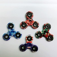 4040 New Creative Fidget Spinner Desk Anti Stress Finger camouflage Spin EDC Sensory Toy Gift for Kid Widget Focus Toys