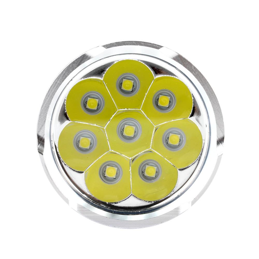 2019 nouveau puissant 8 x XML L3 20000 lumens étanche lampe de poche - Éclairage portable - Photo 5