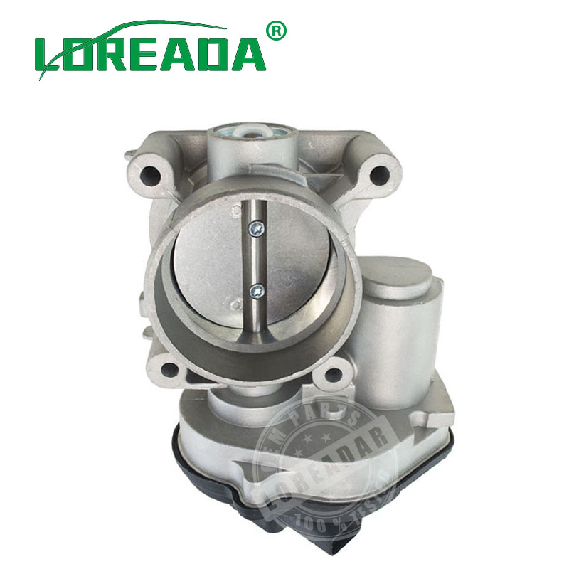 55mm Throttle Body For FORD C MAX FIESTA FOCUS MONDEO VP4M5U9E927DC VP4F9U 9E928 AC VP2S6U 9E928