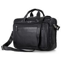 Nesitu большой черный наппа натуральная кожа мужской портфель 17 дюймов портфель для ноутбука мужские сумки мессенджеры деловые дорожные сумк