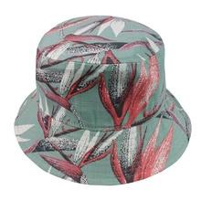 Winfox Floral Bucket cap Man Women Unisex Banana Hat Bob Caps Hip Hop cool outdoor sports Summer ladies Beach Sun Fishing