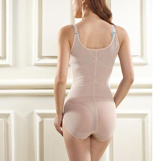 5dc4de777c06f Women s Shapewear Bodysuit Lady Nude Black Slip Body Shaper Firm Tummy  Control Underbust Shapewear Bodysuit WomenM L XL XXL XXXL