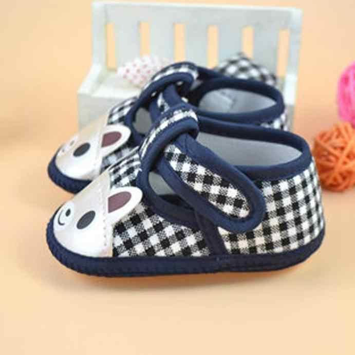Zarar Satışı 2018 Yenidoğan Kız Erkek Yumuşak Sole Beşik bebek ayakkabısı Tuval Sneaker Bebek Ayakkabı bebek ayakkabısı 20