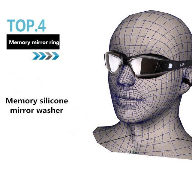 Купить спортивные очки для взрослых профессиональная близорукость плавания картинки