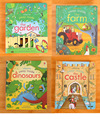 Original English Educational Picture Books For Baby Early Childhood Usborne Peep Inside The Garden best gift For Children