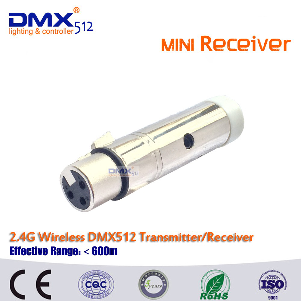 Free shipping 20pcs 3pin XLR wireless dmx  receivers for  ktv DJ stage lighting 2 receivers 60 buzzers wireless restaurant buzzer caller table call calling button waiter pager system