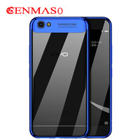 Soft TPU For BBK Vivo Y67 Cases Ultra Thin Transparent Plating Shining Case For BBK Vivo