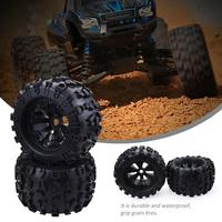 17mm HEX WHEEL & 170mm TIRES FOR RC 1/8 Truck HPI Savage FLUX HSP For RC Car Accessories Parts