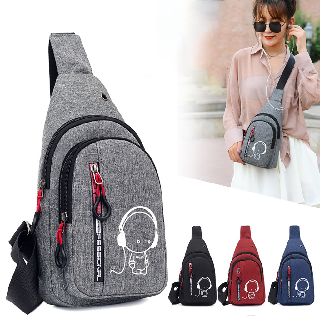 Women Waist Pack Ladies Chest Bags Small Belt Pack Casual Messenger Bag Fashion One Shoulder Zipper Chest Bag Female blosa #5$(China)