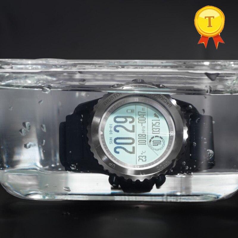 best selling Professional Outdoor Sport GPS Smart Watch IP68 Waterproof Swim Dynamic Heart Rate Barometer Thermometer