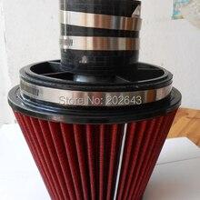 2688-6 Универсальный воздушный фильтр с 140 мм Высота редуктора и зажимов стек скорости с 3 ''/3.5 ''/4'' для авто индукции комплект