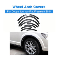 ABS Fender Flares Wheel Well Arch Covers Fit For Dodge Journey Fiat Freemont 2014