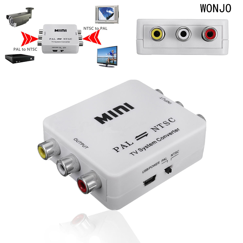 Image 4 - Mini Conversion Portable TV PAL to NTSC or NTSC TO PAL Dual Way Format Video System Converter Composite PAL NTSC Connection