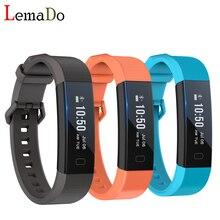 Lemado Y11 Smart Band Фитнес спортивной деятельности трекер сердечного ритма сна Мониторы шагомер браслет для Android IOS с 3 цвета