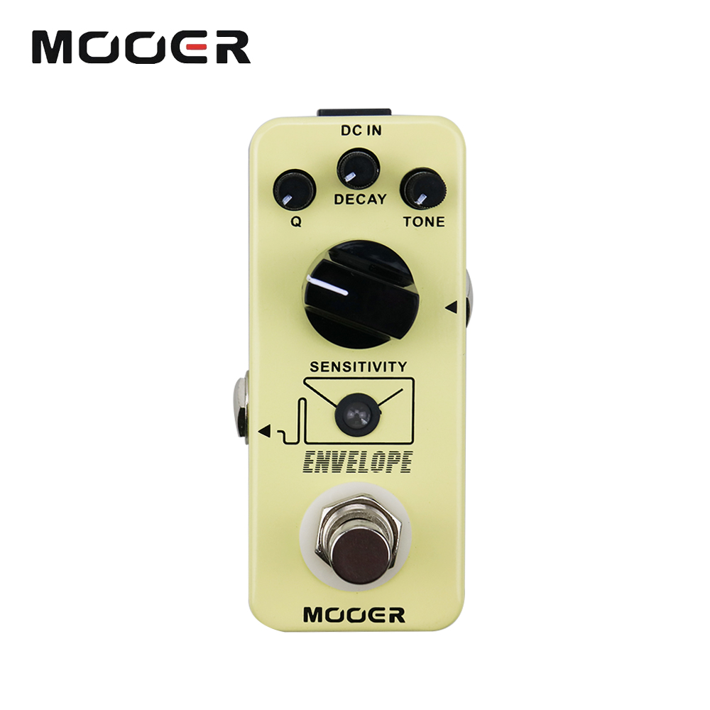 Mooer Q Decay Tone Control Micro Envelope Analog Auto Wah Guitar Effects Pedal new effect pedal mooer envelope auto wah filter dynamic auto wah pedal with big tone and lots of versatility