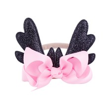 2018 New Fashion Christmas Infant Baby Antlers Deer Headband Hair band Dance Ballet 6 Colors(China)