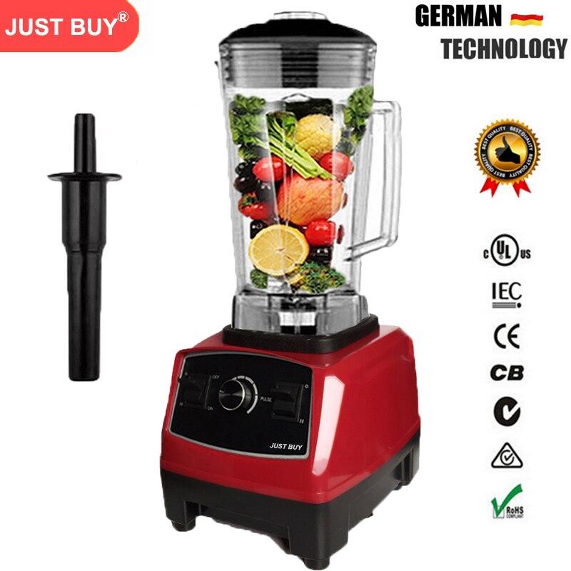 SANS BPA 2200 w Heavy Duty Commercial Blender Professionnel Mélangeur Mélangeur Alimentaire Processeur Japon Lame Presse-agrumes Glace Smoothie Machine