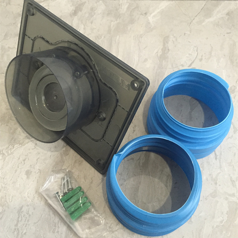 LX Exhaust Fan Check Valve Bathroom Exhaust Ventilation Check Valve Tamper Anti-backflow Equipment 100 Or 110 Mm In Diameter