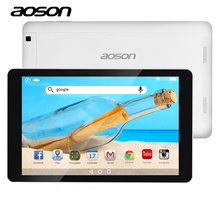 AOSON 10.1 inch game Tablet android 6.0 wifi tablets 16GB ROM 1GB RAM MTK8163 Quad Core HD 1280*800 IPS Screen wifi Dual Cameras