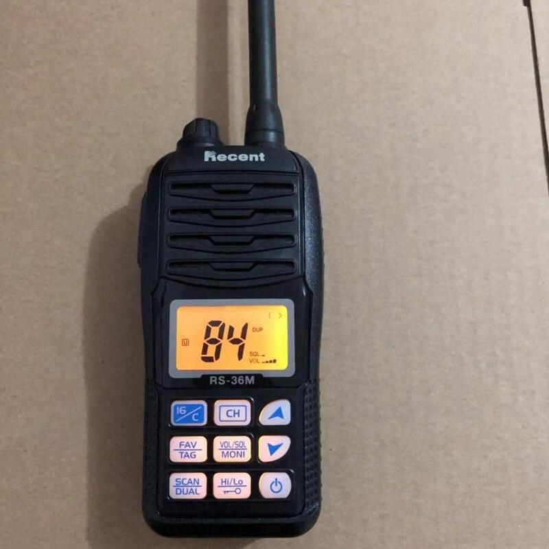 Image 2 - Профессиональный морской рация RS 36M RX 156,000 163,425 MHz TX 156,000 161,450 MHz Водонепроницаемый океан радио-in Рация from Мобильные телефоны и телекоммуникации