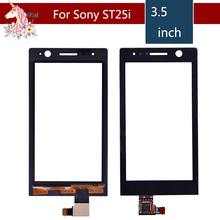 3.5 For Sony Ericsson Xperia U ST25 ST25i LCD Touch Screen Digitizer Sensor Outer Glass Lens Panel Replacement
