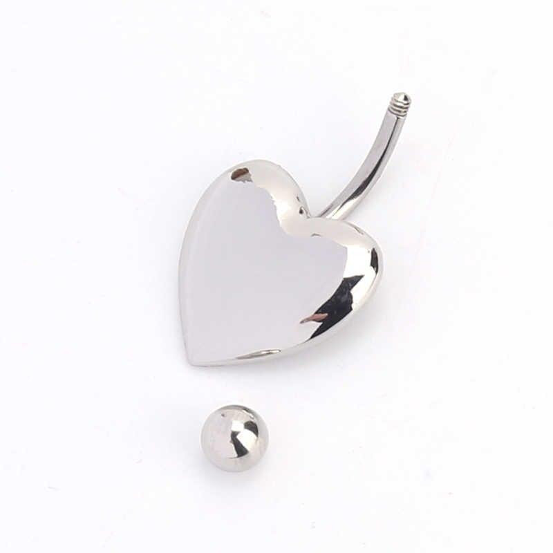 מכירה חדשה לב נירוסטה תכשיטי ואבזרים פופולרי תכשיטי גוף פירסינג תכשיטים