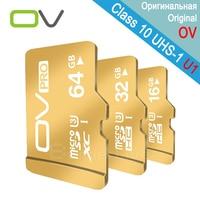 Real Capacity OV Micro SD Card 64GB Pro 90MB S MicroSDXC Class 10 UHS 1 U3