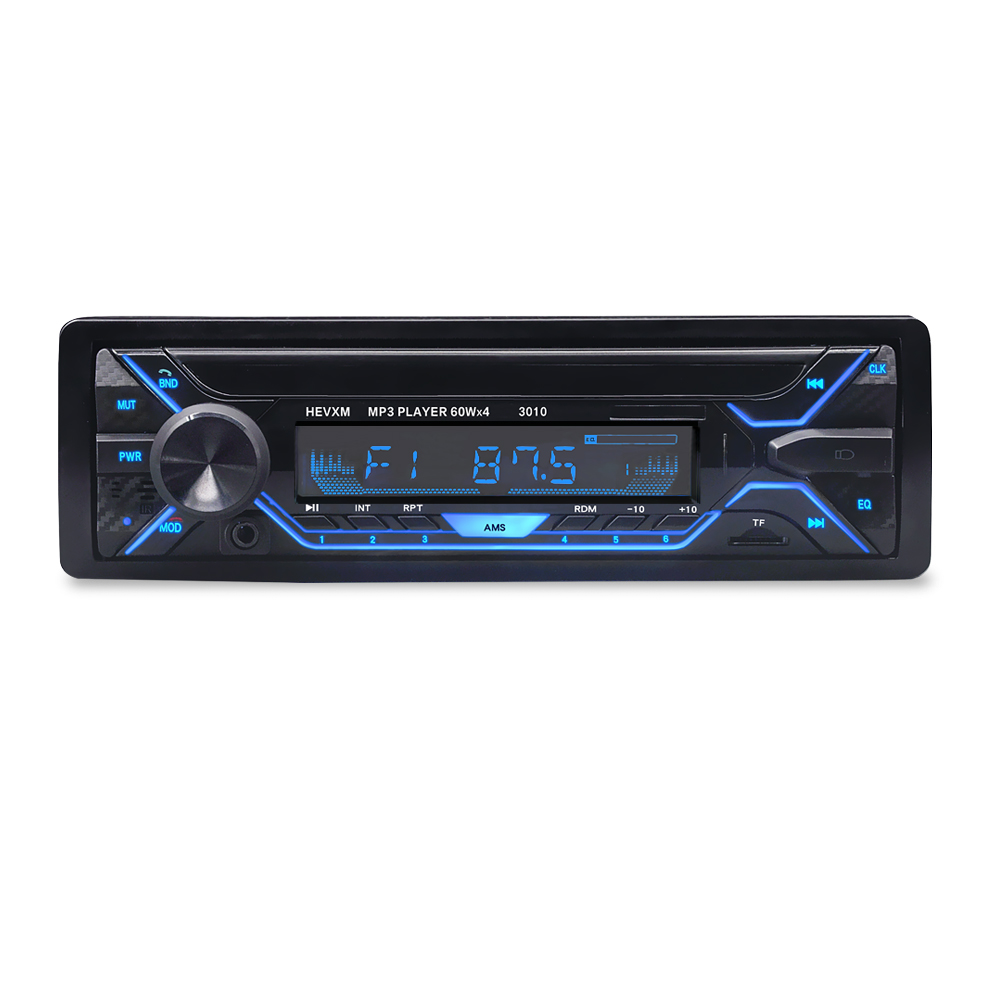 Image 5 - 3010 Car MP3 Player 12V Blue tooth V2.0 Car Stereo Audio In dash Single 1 Din FM Receiver Aux Input  MP3 MMC WMA Radio Player-in Car MP3 Players from Automobiles & Motorcycles