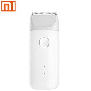 Image 1 - Xiaomi cortadora de pelo eléctrica mitu Original recargable por usb, resistente al agua, corte de pelo de seguridad para niños, cortadora de pelo estática para hombre y bebé mijia