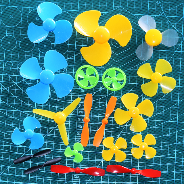 19 kinds propeller dji phantom 3/diy Toy Accessories/Technology Model Accessories/fan leaves/yuanmbm/quadcopter servo fpv